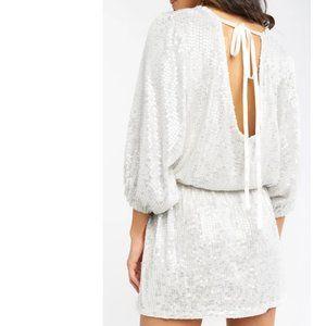 Show Me Your Mumu Genevieve Dress - White Shine